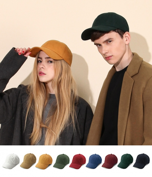 Cotton Suede Ball Cap 10 Color