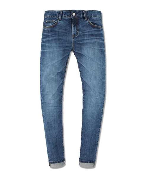 [New York] ACV#4 Cat Washed Denim