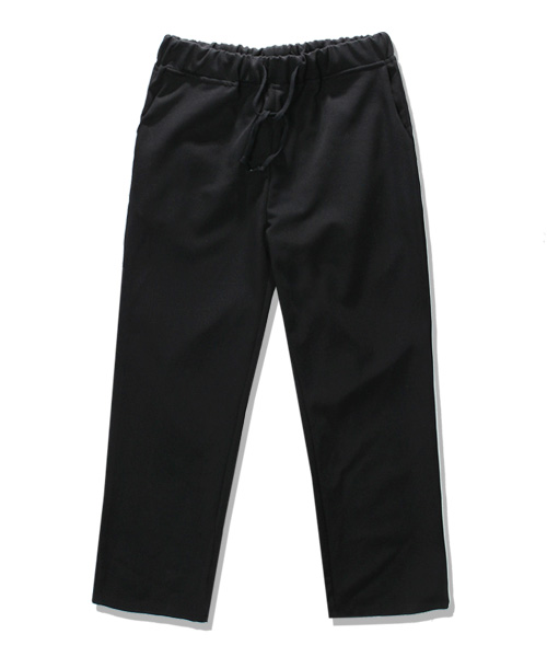 TR Wide Banding Slacks Black