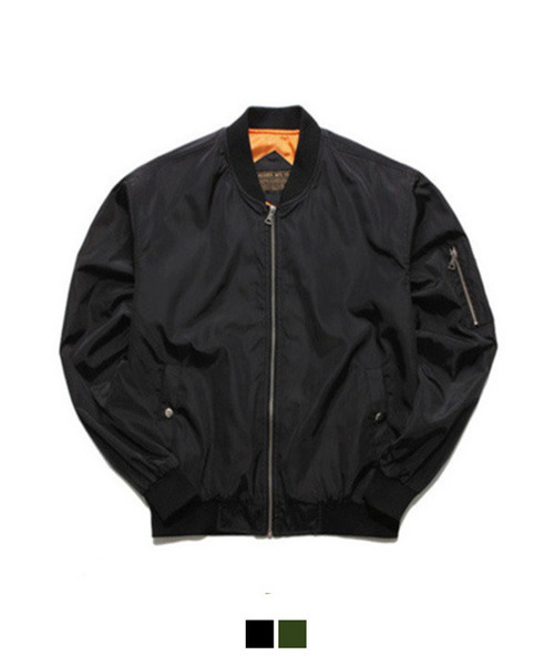 Basic MA-1 Jacket Black