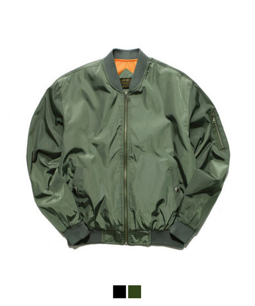 Basic MA-1 Jacket Khaki