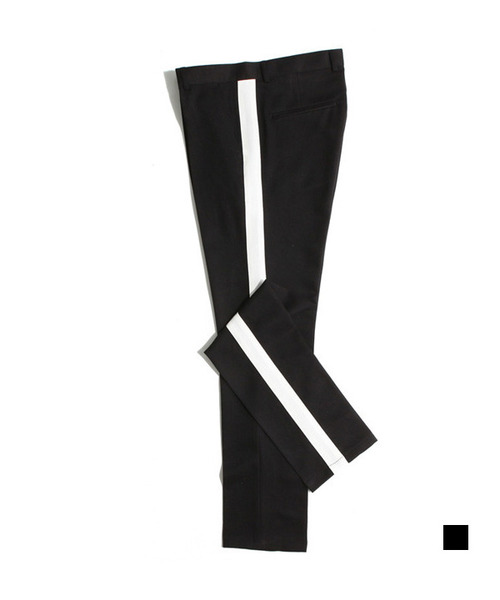 Side Band Tr Track Slacks Black