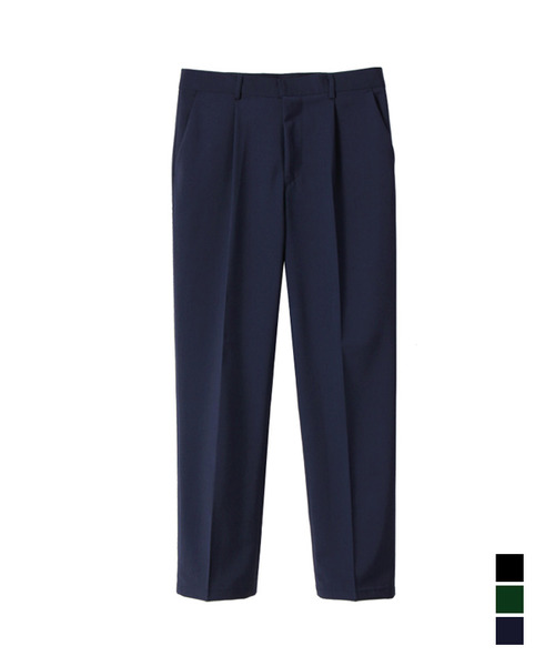 Elegant Regular Fit Trouser Purple Navy