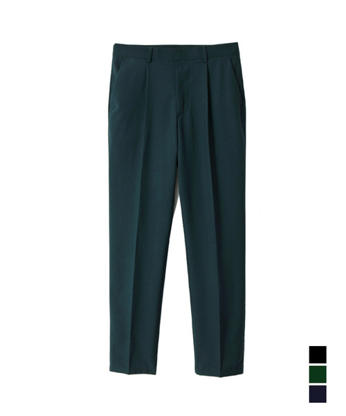 Elegant Regular Fit Trouser Deep Green