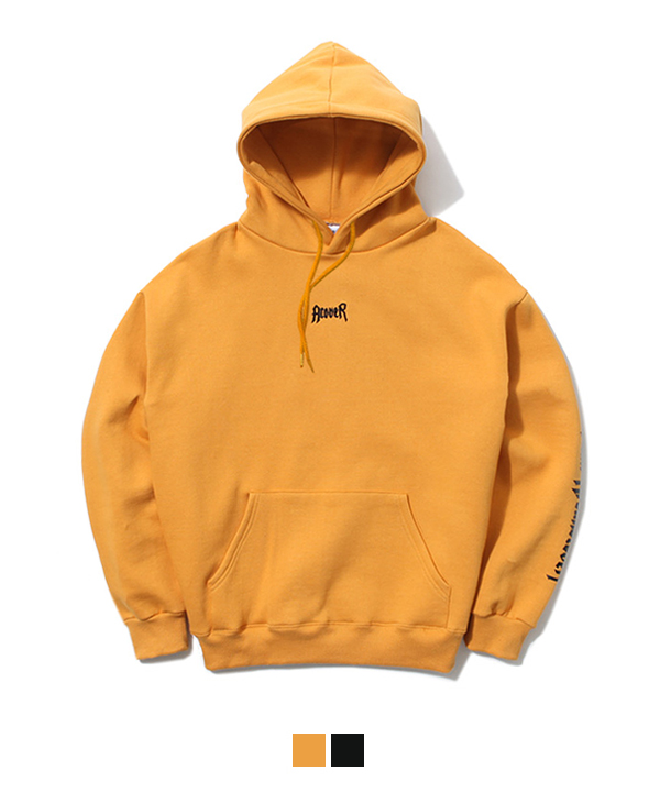 Chest ACOVER Tumble Hood T-Shirt Mustard