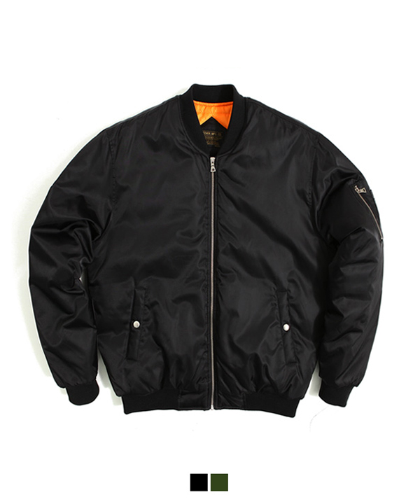 [MA-1 6oz] Padding Jacket Black