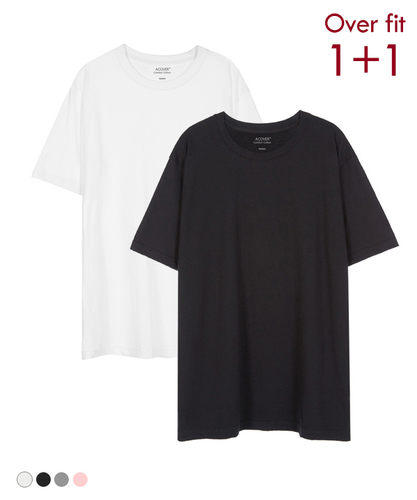 [1+1] BASIC COOL SIDE-VENT T-SHIRTS