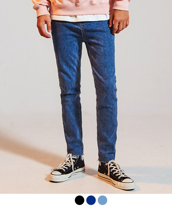 BASIC VINTAGE WASHED JEANS
