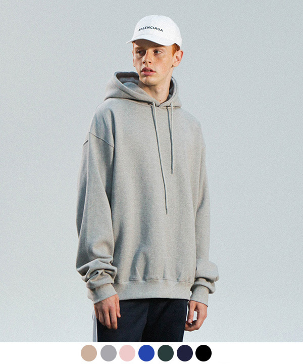 [3월21일 예약발송][기모] 1200g OVER TUMBLE NAPPING HOODIE