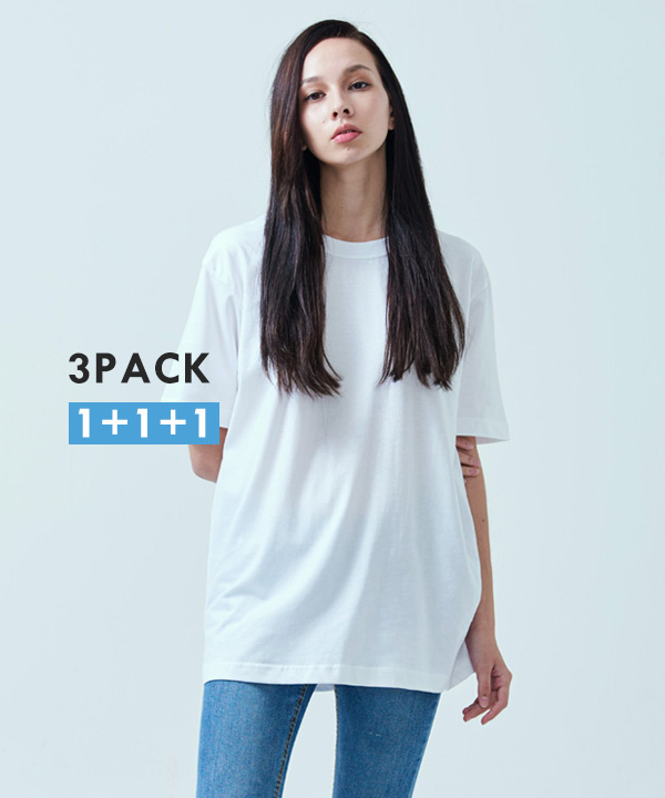 [3PACK] COOL BASIC T-SHIRTS