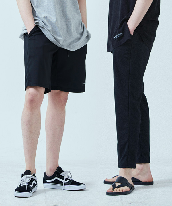 [1+1] PERFECT SLIM BANDING SLACKS + BALANCE BANDING SHORTS