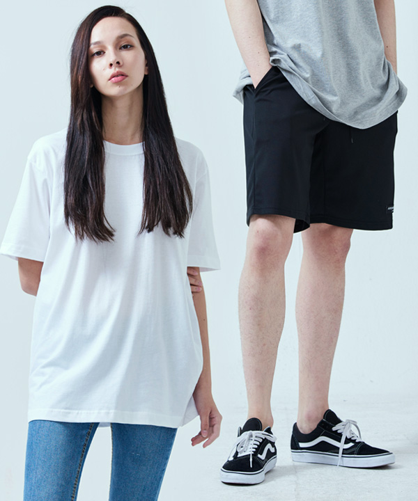 [1+1] BALANCE BANDING SHORTS + COOL BASIC T-SHIRTS