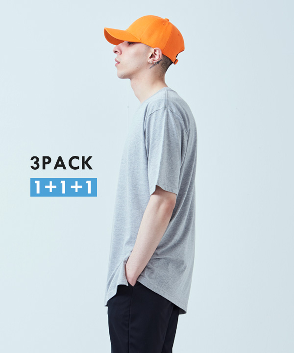 [3PACK] COLOURFUL BASEBALL CAP