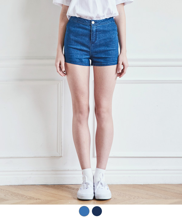 SURFING DENIM SHORTS