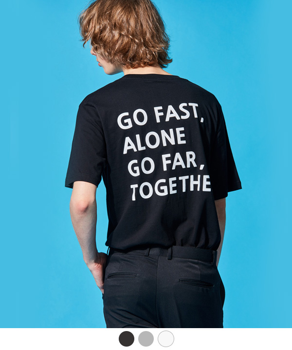 [7월31일예약배송]GO TOGETHER T-SHIRTS