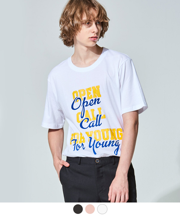 [7월31일예약배송]CALL FOR YOUNG T-SHIRTS