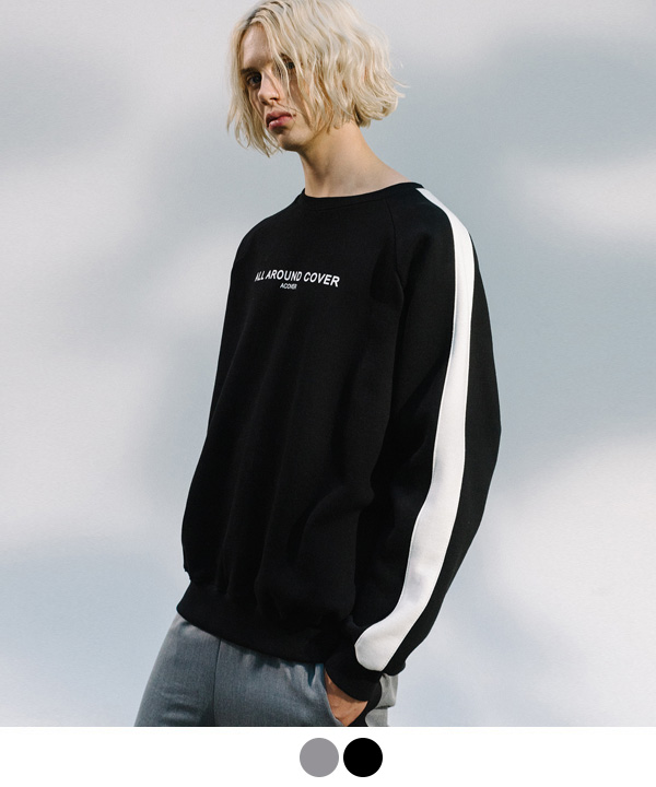 [10월20일예약발송] SIDE LINE SWEATSHIRTS