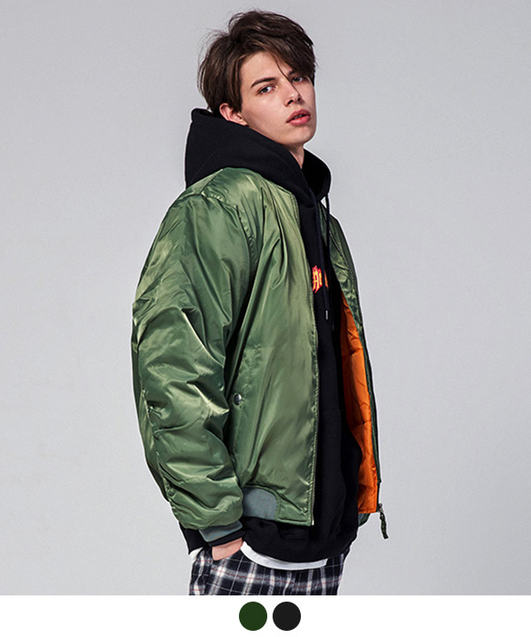 [12월12일 예약발송][MA-1 6oz][FREE]Shirring Padding Jacket