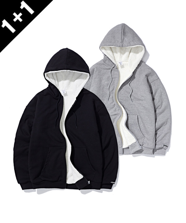 [1+1] BOA SWEAT HOODIE ZIP UP