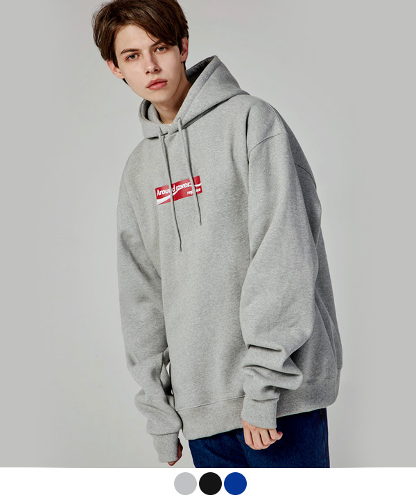 RED BOX OVER HOODIE