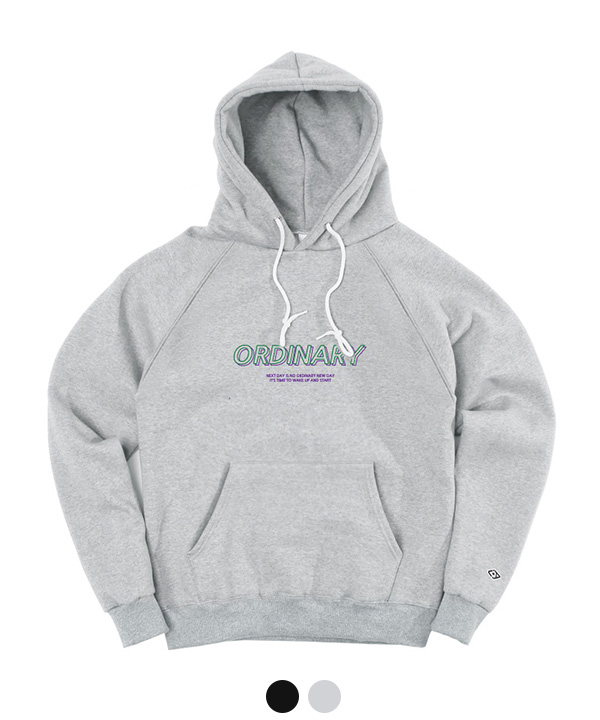 [1월26일 예약발송] GRAPHIC ORDINARY HOODIE