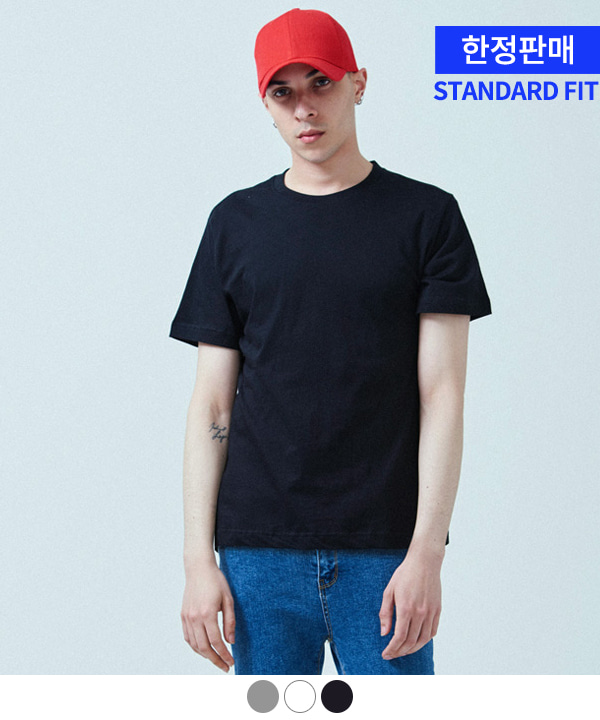 [5월28일 예약발송][ACOVER X MUAHMUAH]COOL BASIC T-SHIRTS