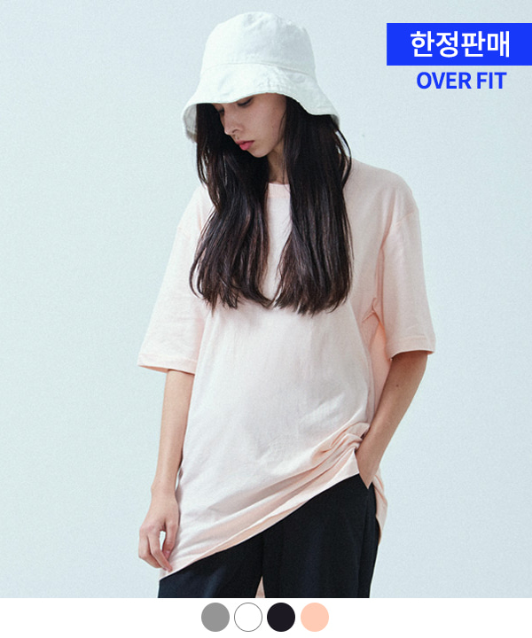 [ACOVER X MUAHMUAH]BASIC COOL SIDE-VENT T-SHIRTS