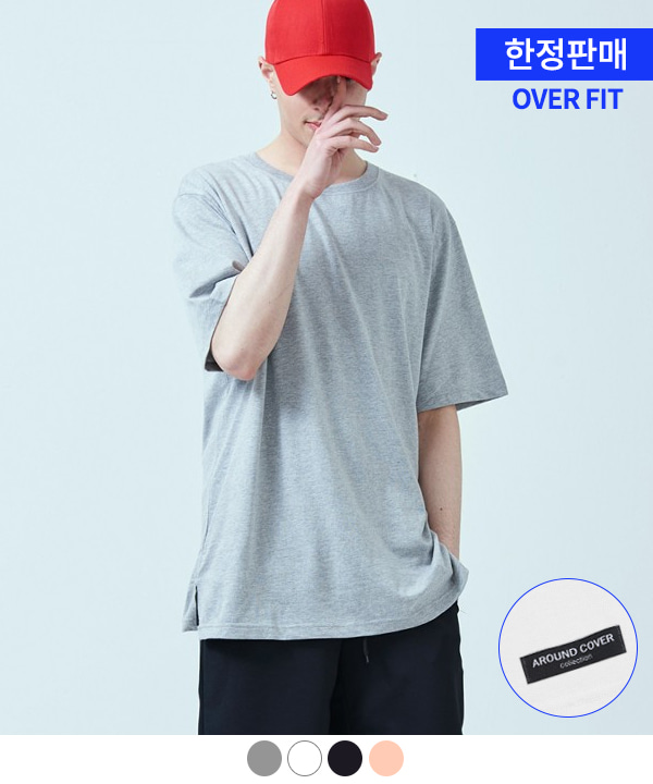 [ACOVER X MUAHMUAH]PATCH COOL SIDE-VENT T-SHIRTS