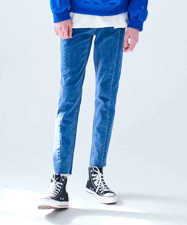 REWORKED CUTTING JEANS