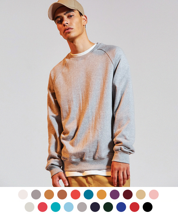 [9월29일 예약배송] Terry Tumble Crewneck Sweatshirts