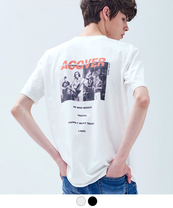 BAND ACOVER T-SHIRT